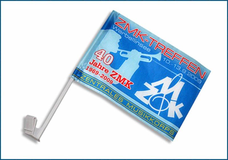 ZMK Autofahne - Logo