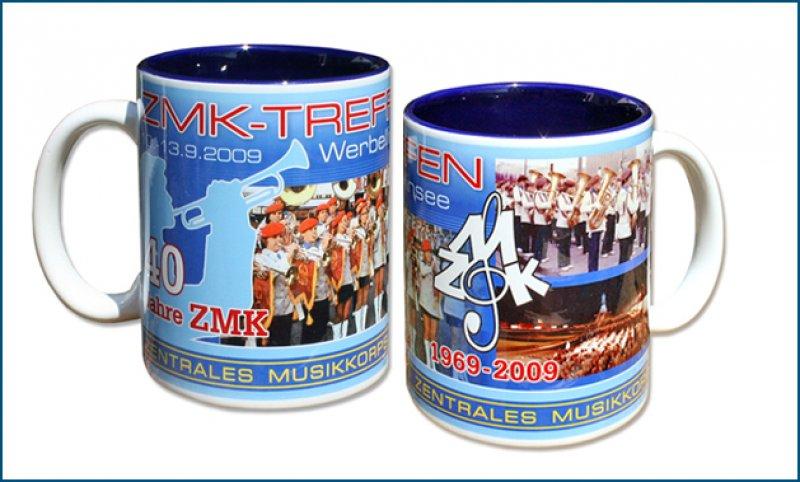 Panoramatasse 40 Jahre ZMK Dunkelblau 2009