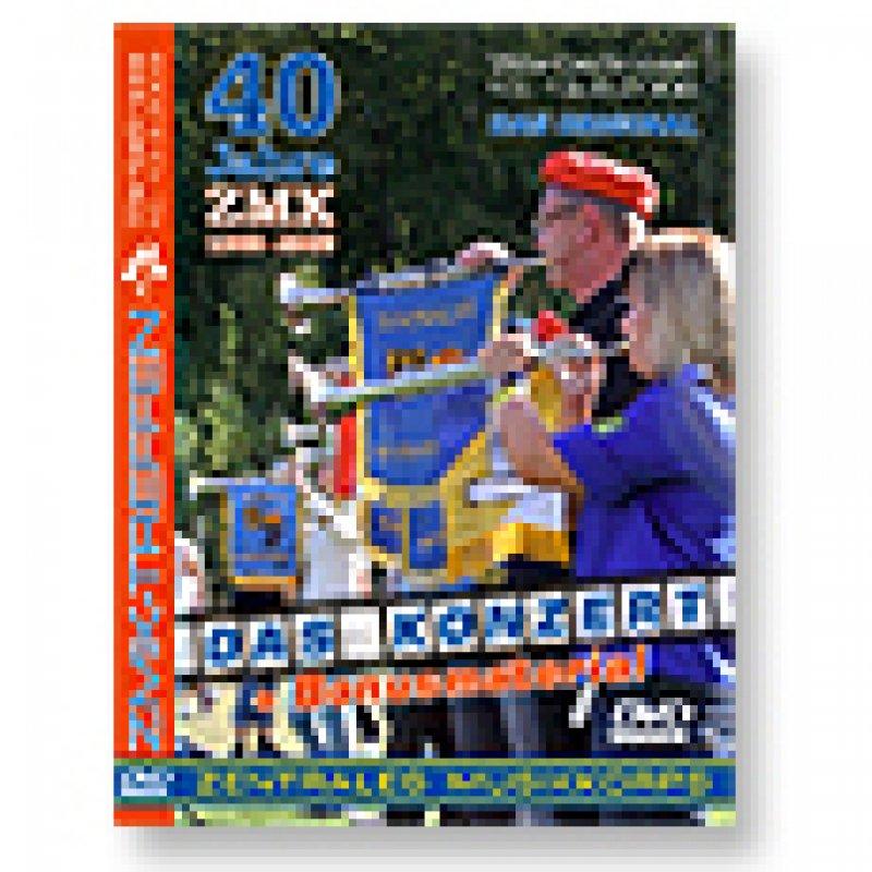 """DVD - 40 Jahre ZMK - """"DAS KONZERT"""""""