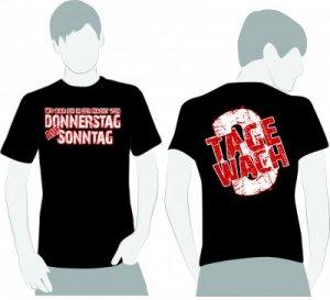 """T-Shirt """"3 Tage Wach"""""""