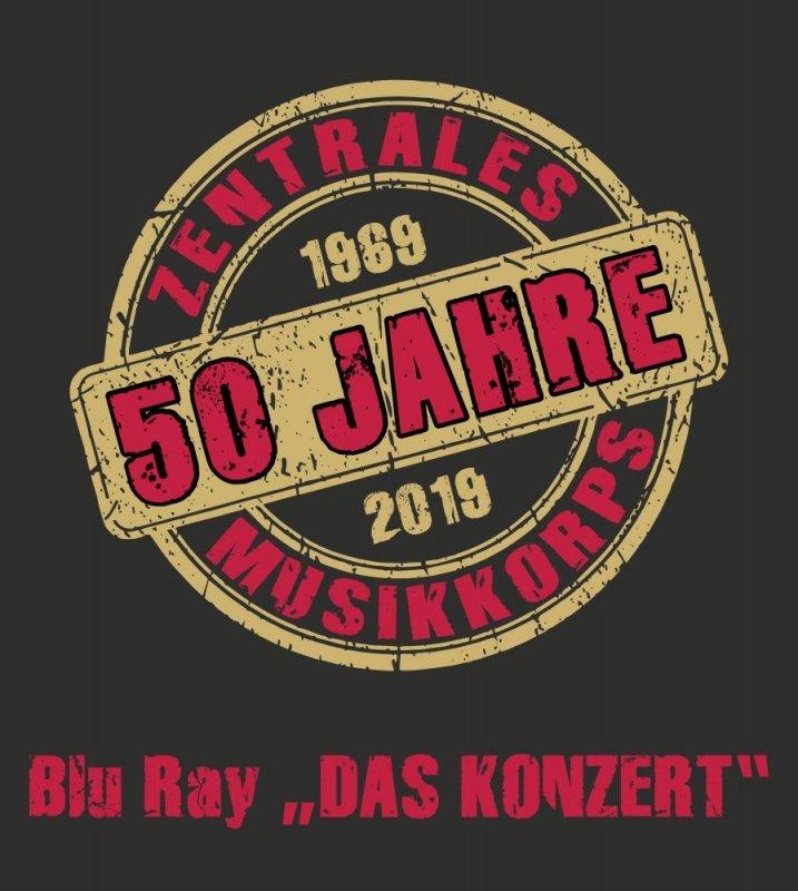 """AB 15.10. Blu Ray - 50 Jahre ZMK - """"DAS KONZERT"""""""