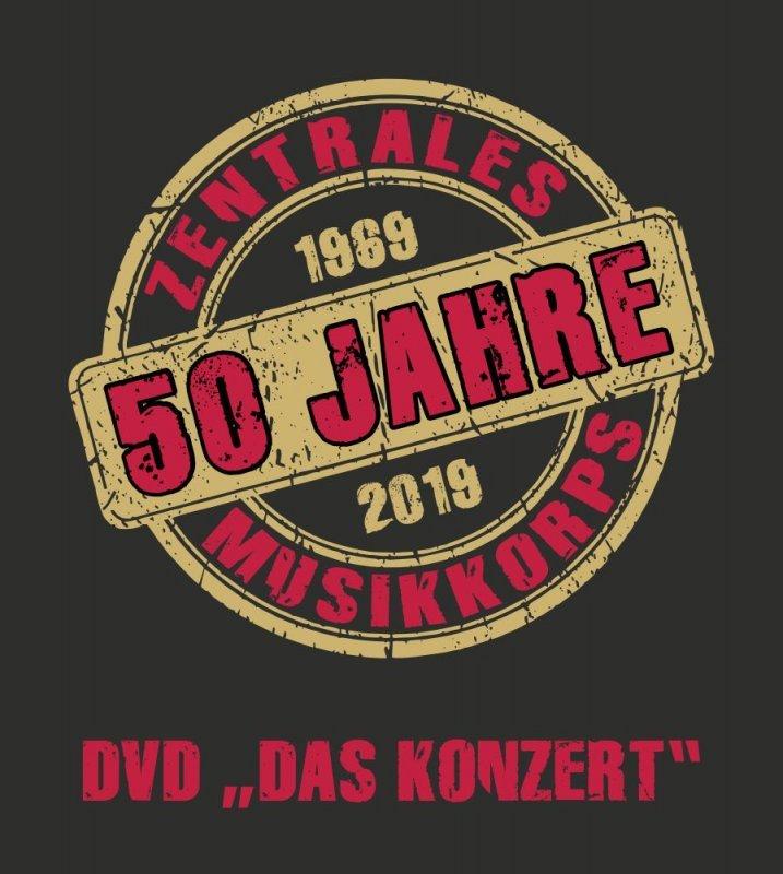 """AB 15.10. DVD - 50 Jahre ZMK - """"DAS KONZERT"""""""